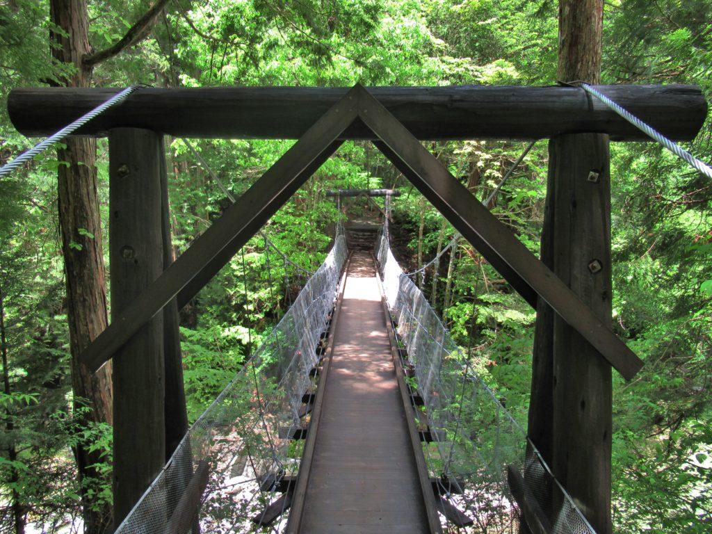赤彦吊り橋