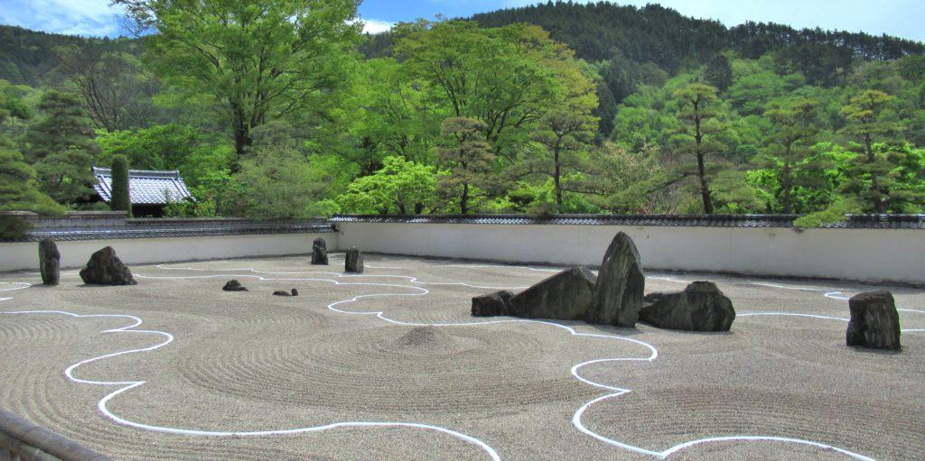 興禅寺の看雲庭