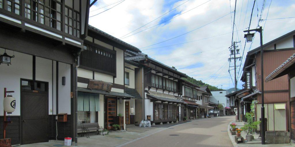 木曽平沢の町並み