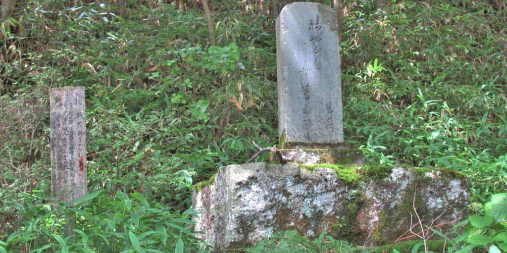木曽の桟 芭蕉句碑
