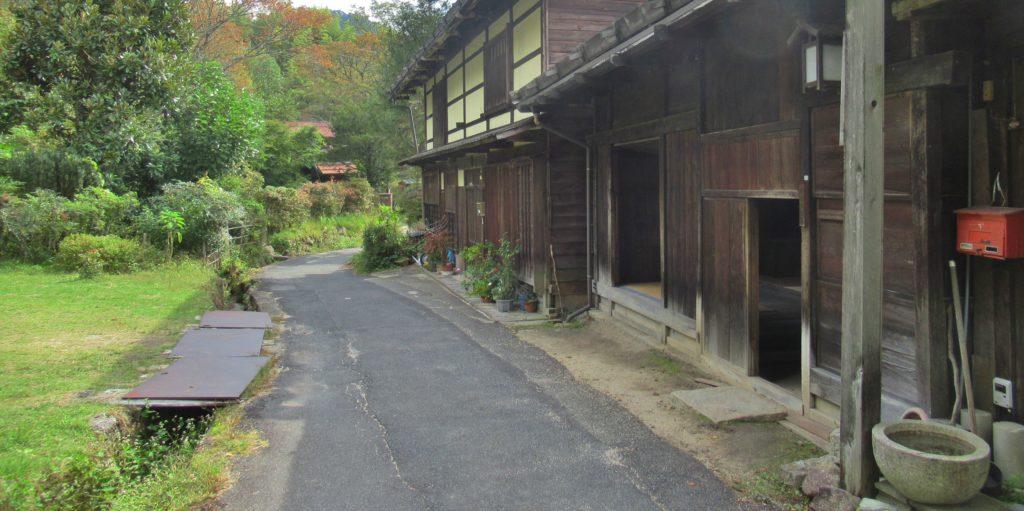 熊谷家住宅付近