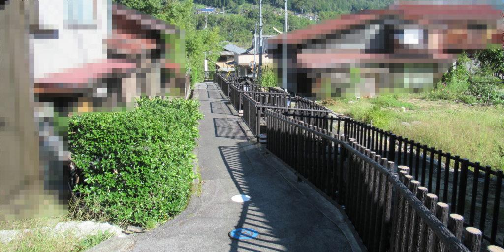 須原宿の枡形