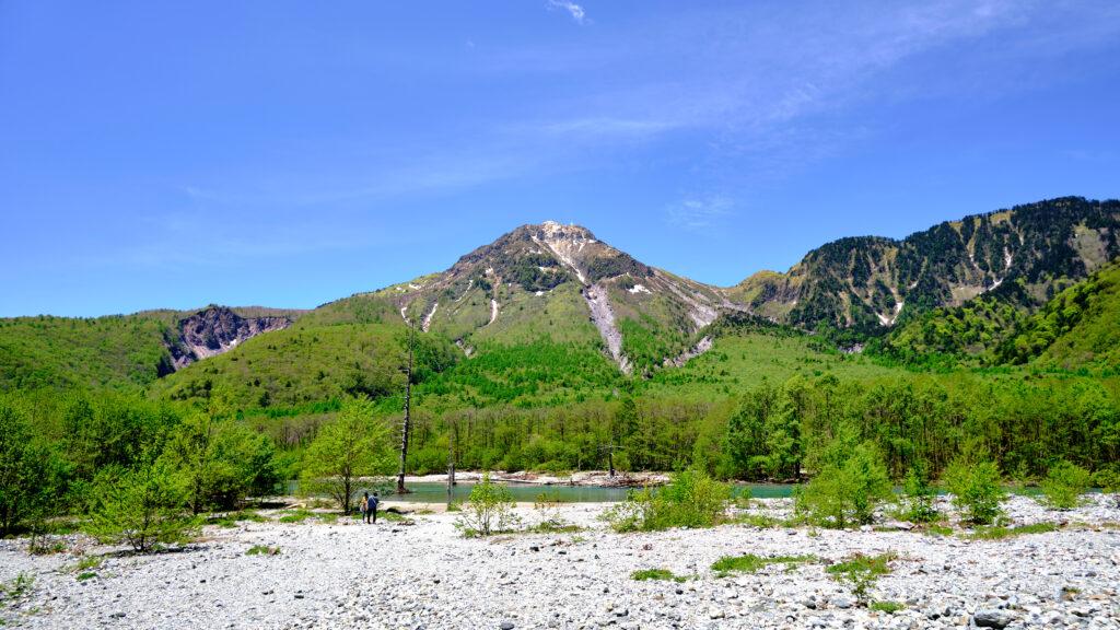 梓川と焼岳 その1